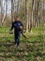 Председатель Леноблизбиркома М.Е. Лебединский - организатор субботника в парке дер. Гостилицы