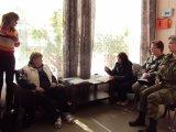 Первое организационное заседание участковой избирательной комиссии № 627 в Лебяженском городском поселении.