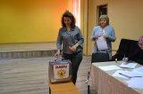 Первое организационное заседание УИК № 642 в дер. Кипень.