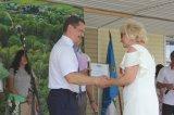 Награждается Благодарностью председателя Избирательной комиссии Ленинградской области Хаттунен Н. А. - председатель участковой избирательной комиссии Келозского избирательного участка № 644