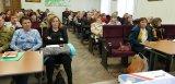 Участники занятий члены участковых избирательных комиссий городских и сельских поселений Ломоносовского муниципального района.