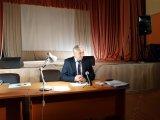 Секретарь ТИК Ломоносовского района Шуть Ю.П. проводит занятия с членами участковых избирательных комиссий в Гостилицком Доме культуры.
