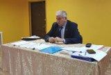 Секретарь ТИК Ломоносовского района Шуть Ю.П. проводит занятия с членами участковых избирательных комиссий в Кипенском Доме культуры.