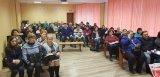 Занятия с членами участковых избирательных комиссий Виллозского городского поселения, Кипенского, Лаголовского, Ропшинского и Русско-Высоцкого сельских поселений.