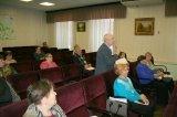 Заседание Ломоносовского районного Совета ветеранов войны, труда и Вооруженных Сил.