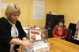 дер. Кипень Избирательный участок № 642. Начало подсчета голосов избирателей