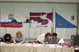 дер. Кипень. Работа с документами в участковой избирательной комиссии избирательного участка № 643