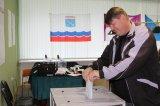 дер. Кипень. Голосование избирателей на избирательном участке № 643