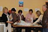 дер. Кипень. Избирательный участок № 642. Подсчет голосов избирателей.